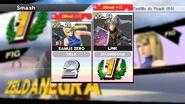 Dos amiibo subiendo de nivel terminando un combate - Super Smash Bros. for Wii U