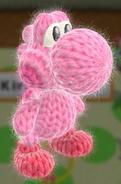 Patrón Kirby - Yoshi's Woolly World