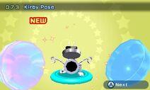Pose de Kirby - Chibi Robo! Zip Lash