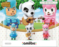 Embalaje europeo del pack de Al, Totakeke y Paca - Serie Animal Crossing