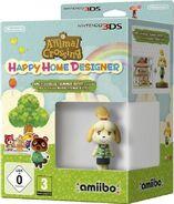 Pack de Anima Crossing Happy Home Designer y amiibo de Canela (Europa)