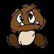 Retrato amiibo de Goomba - WarioWare Gold