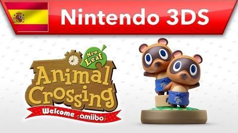 Animal Crossing New Leaf - Welcome amiibo - Tendo y Nendo (Nintendo 3DS)