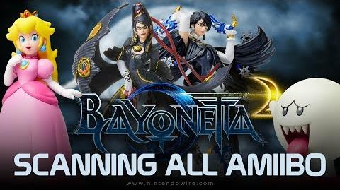 Bayonetta 2 Unlocking All amiibo Costumes and Weapons (Nintendo Switch)