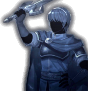 Retrato Marth - Fire Emblem Echoes Shadows of Valentia