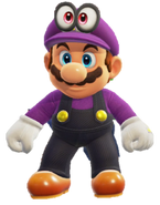 Conjunto de Waluigi - Super Mario Odyssey