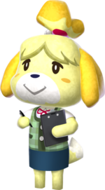 Canela en Animal Crossing New Leaf