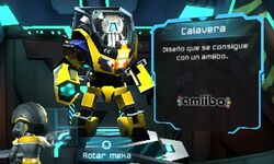 Meka Calavera - Metroid Prime Blast Ball