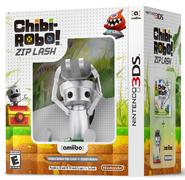 Pack de Chibi-Robo! Zip Lash con amiibo (América)