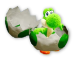 Atuendo de manualidad de Yoshi - Yoshi's Crafted World