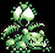 Sprite de Ivysaur en Pokémon Edición Verde