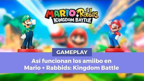 Así funcionan los amiibos en Mario Rabbids Kingdom Battle