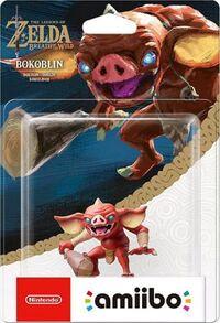 Embalaje europeo del amiibo de Bokoblin - Serie The Legend of Zelda