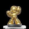 Amiibo Mega Man (Edición oro) - Serie Super Smash Bros.