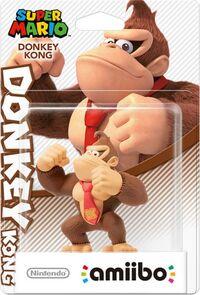 Embalaje europeo del amiibo de Donkey Kong - Serie Super Mario