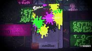 Caja de amiibo durante un festival - Splatoon 2