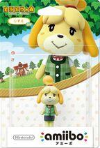 Embalaje japonés del amiibo de Canela (ropa de verano) - Serie Animal Crossing