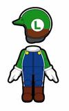 Atuendo de Luigi - Mario Kart 8