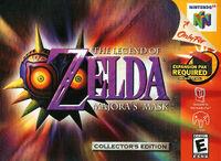 Caja de The Legend of Zelda - Majora's Mask (América)