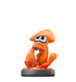 Amiibo Inkling calamar (variante naranja) - Serie Splatoon