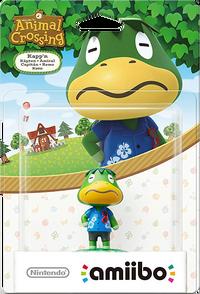 Embalaje europeo del amiibo de Capitán - Serie Animal Crossing