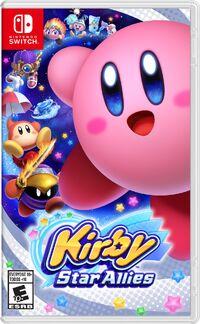 Caja de Kirby Star Allies (América)