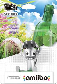 Embalaje americano del amiibo de Chibi-Robo - Serie Chibi-Robo