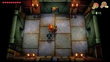 Sala del guardia con mangual - The Legend of Zelda Link's Awakening