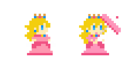 Traje de Peach - Super Mario Maker