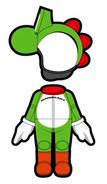 Atuendo de Yoshi - Mario Kart 8