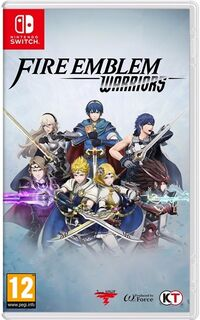 Caja de Fire Emblem Warriors (Switch) (Europa)