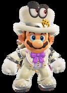 Conjunto nupcial de Bowser - Super Mario Odyssey