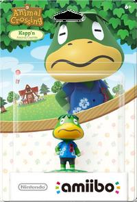 Embalaje americano del amiibo de Capitán - Serie Animal Crossing