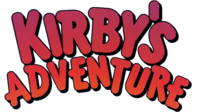 Logo de Kirby's Adventure