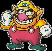 Artwork de Wario en Super Mario Land 2