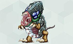 Arte de Metroid II (7) - Metroid Samus Returns