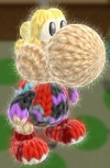 Patrón Shulk - Yoshi's Woolly World