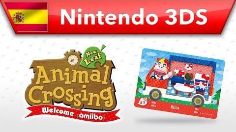 Animal Crossing New Leaf - Welcome amiibo - Rila (Nintendo 3DS)
