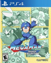 Caja de Mega Man Legacy Collection (PlayStation 4)