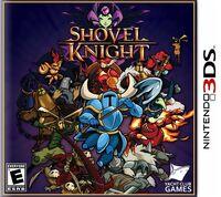 Caja de Shovel Knight (3DS) (América)
