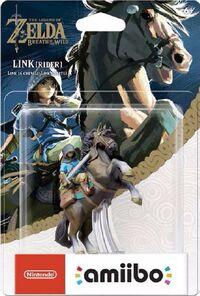 Embalaje americano del amiibo de Link (jinete) - Serie The Legend of Zelda
