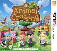 Caja de Animal Crossing New Leaf (América)
