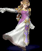 Zelda en Super Smash Bros. for Nintendo 3DS and Wii U