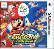 Caja de Mario & Sonic en los Juegos Olímpicos Rio 2016 (3DS) (América)