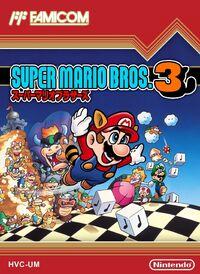 Caja de Super Mario Bros. 3 (Japón)