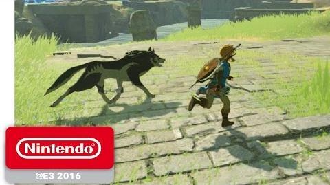 The Legend of Zelda Breath of the Wild - amiibo Gameplay - Nintendo E3 2016