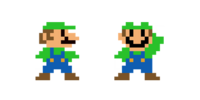 Traje de Luigi - Super Mario Maker