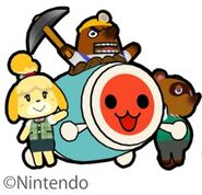 Taiko Animal Crossing