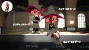 Imagen oficial japonesa del conjunto encantado Splatoon 2