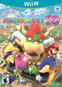 Caja de Mario Party 10 (América)